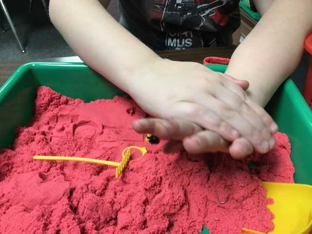 Kinetic Sand Rocks for Speech and Language!